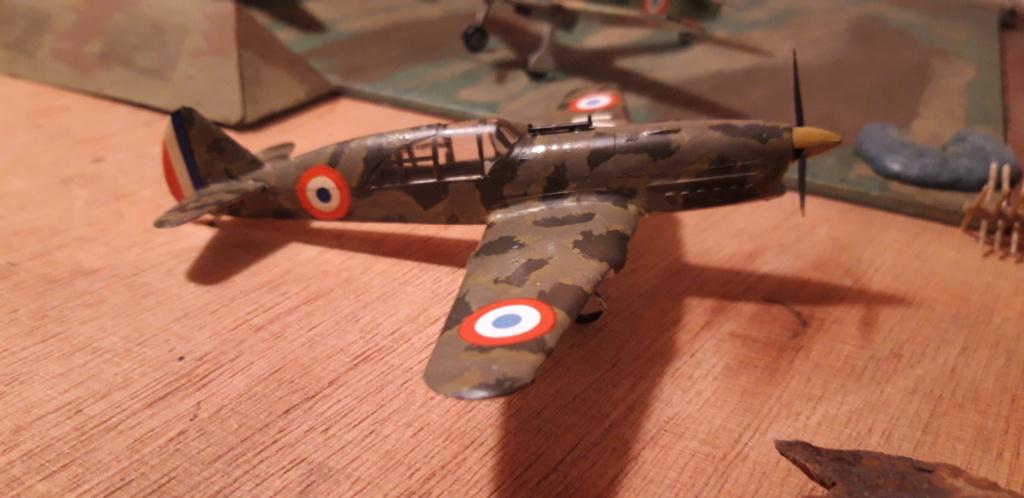 Curtiss H75 , Caudron 714 , ME109E . 1970 echelle 1/72ème C_cotz10