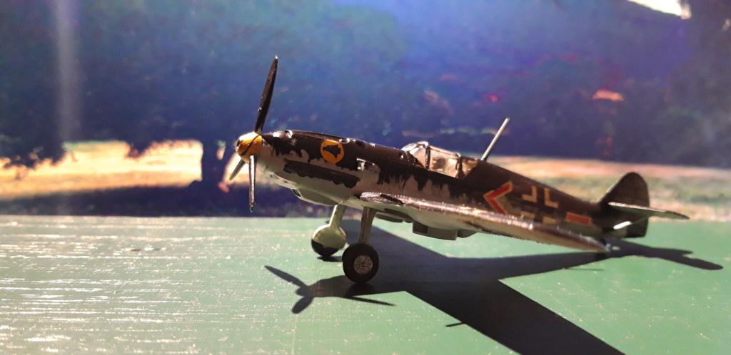 Curtiss H75 , Caudron 714 , ME109E . 1970 echelle 1/72ème C_gauc10