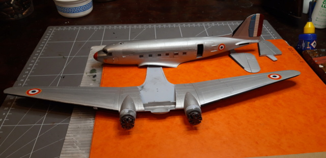 Dakota Airfix 1/72ème nouvelle boite vers 2000...?... - Page 3 Dc3_be10