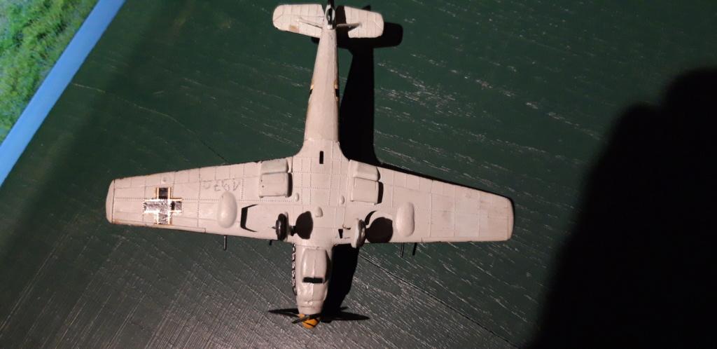 Curtiss H75 , Caudron 714 , ME109E . 1970 echelle 1/72ème Dessou12