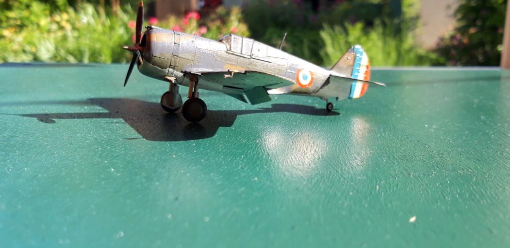 Curtiss H75 , Caudron 714 , ME109E . 1970 echelle 1/72ème H75_c_10