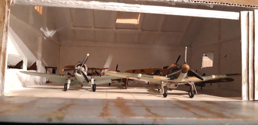 Hangar 1/72 ème pour la campagne de France . - Page 2 Hangar17