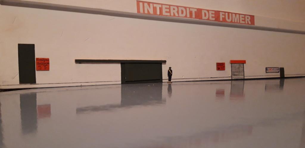 Hangar de maintenance avion en scratch Interi10