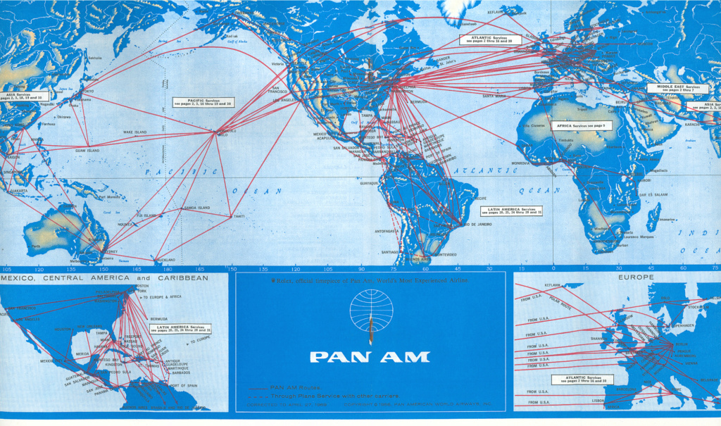 Flight Routes, Shipping Routes, Under Sea Cables - Page 3 Map-1910