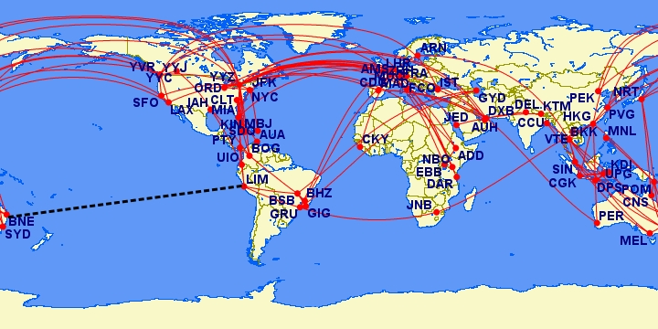 Flight Routes, Shipping Routes, Under Sea Cables - Page 3 Map-2010