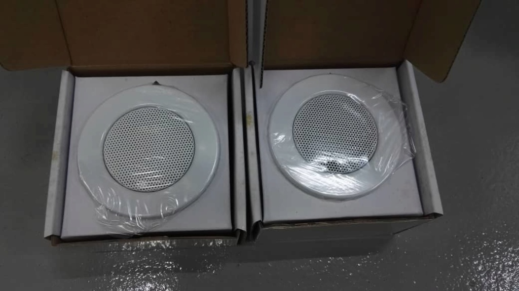 Earthquake sound architectural ceiling speaker (used) Earthq14