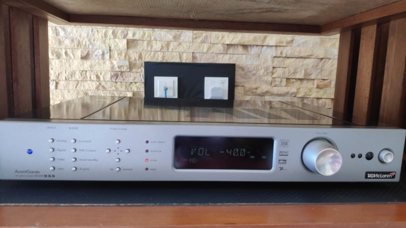 TagMclaren AvantGarde 7channel processor & 5channel power amplifier (used) Tag_mc16