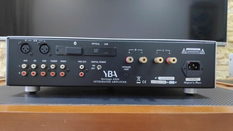 YBA Heritage A200 amplifier (used) Yba_a210