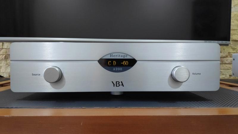 YBA Heritage A200 amplifier (used) Yba_a211