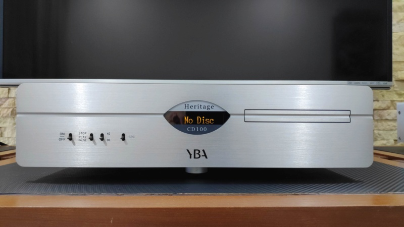YBA Heritage CD100 cd player (used) Yba_cd10