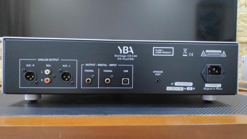 YBA Heritage CD100 cd player (used) Yba_cd12