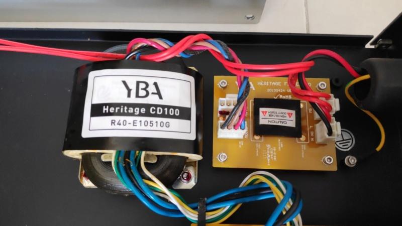 YBA Heritage CD100 cd player (used) Yba_cd16