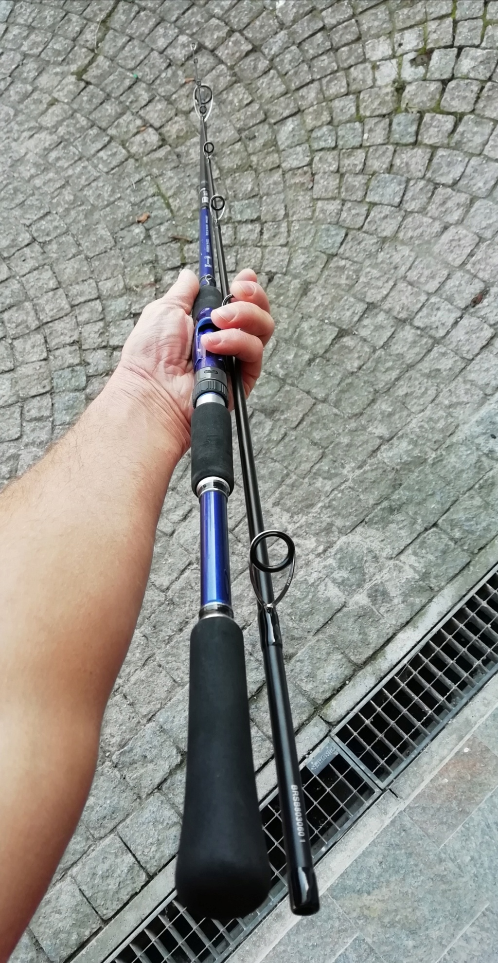 [vendo] [usata] shimano blue romance stickbait 30 /60 8 piedi Img_2101