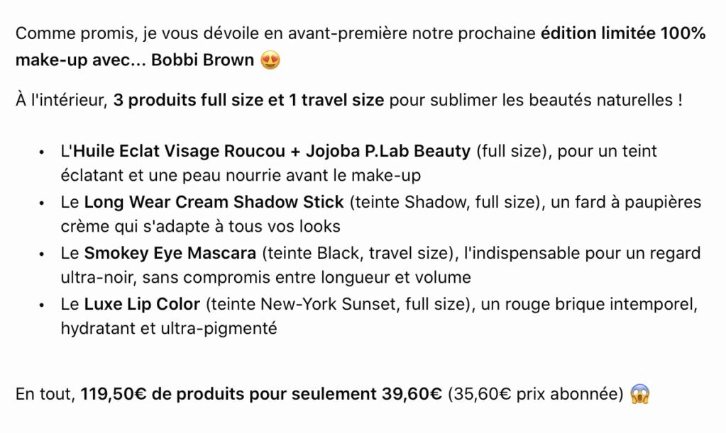Prescription Lab - Edition limitée 100% maquillage - janvier 2021 0a843410
