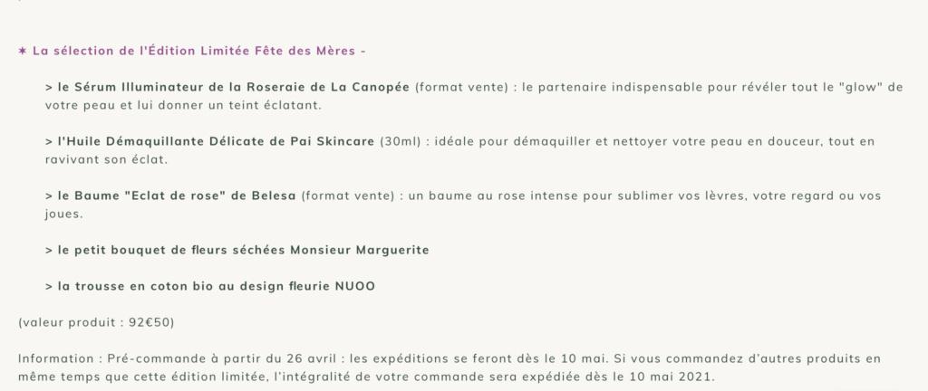 NUOO Édition Limitée - FÊTE DES MÈRES  2021 7be2f110