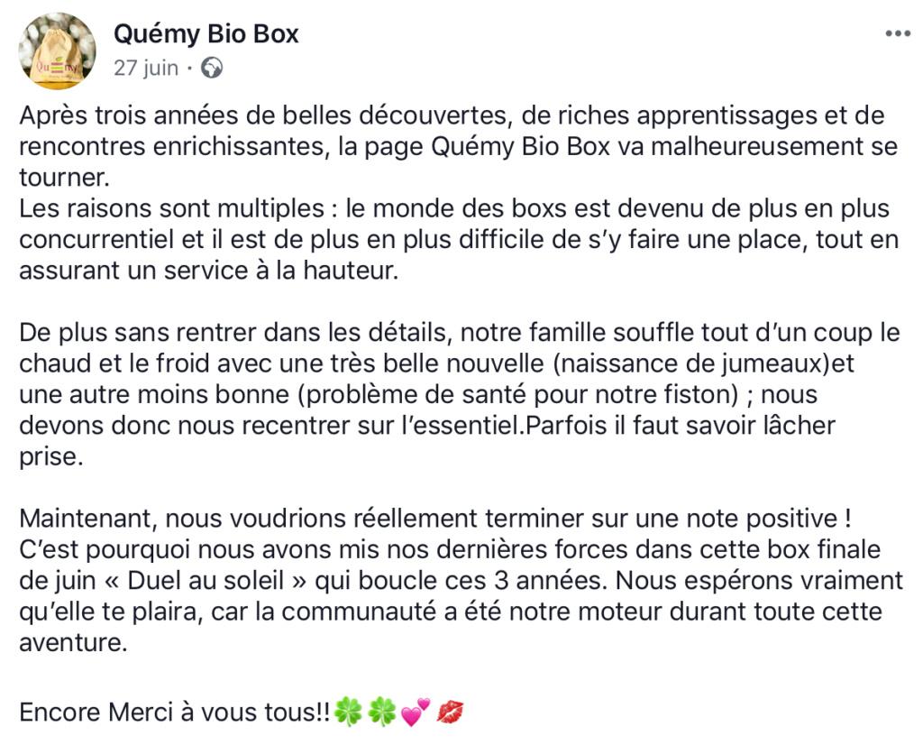 La QUEMY BIO BOX D9499e10