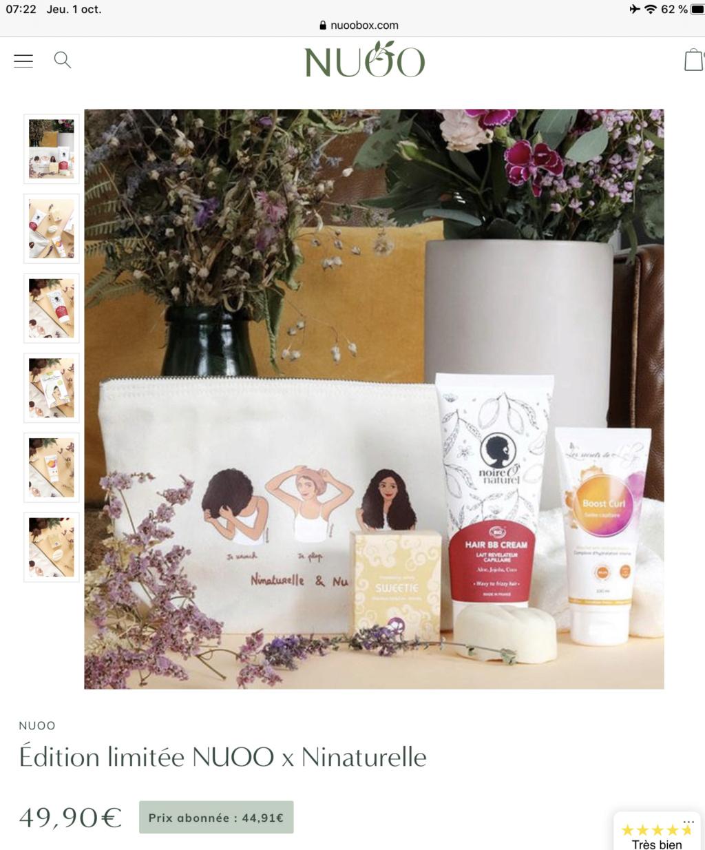 NUOO Edition limitée @NINATURELLE Fdbf4d10