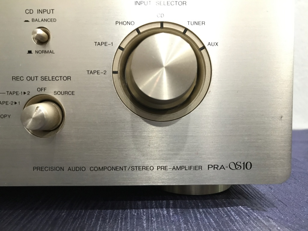 Denon PRA-S10 High End Balanced RC Pre Amplifier 38160b10