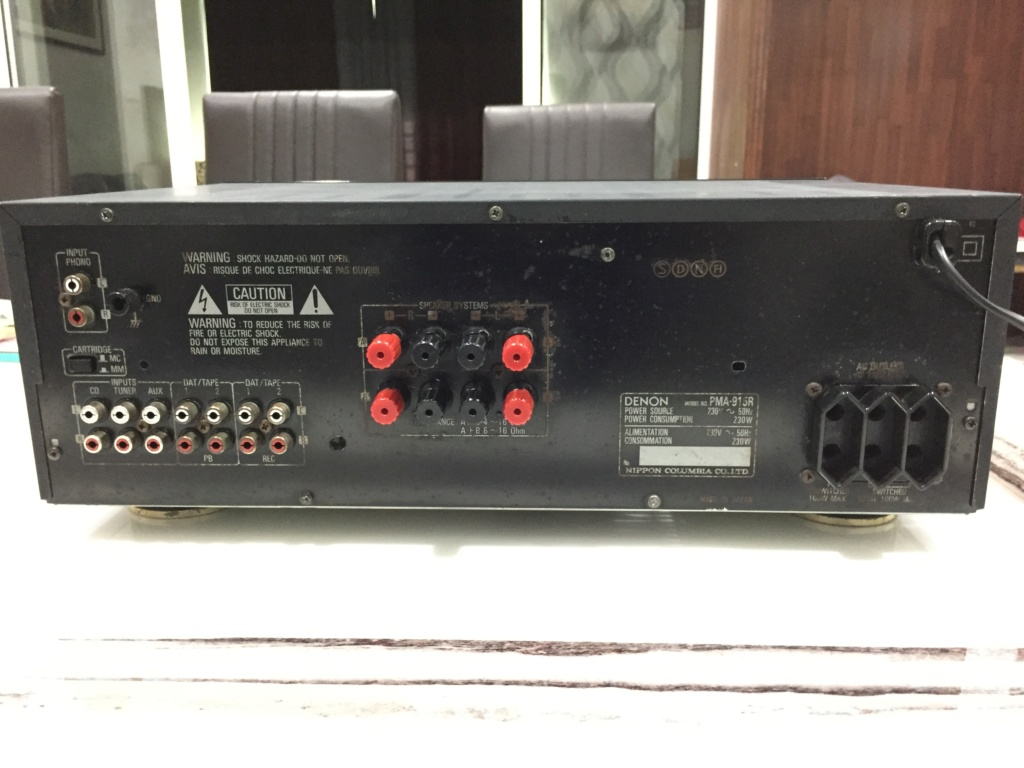 Denon PMA-915R Integrated Stereo Amplifier 6bed2510