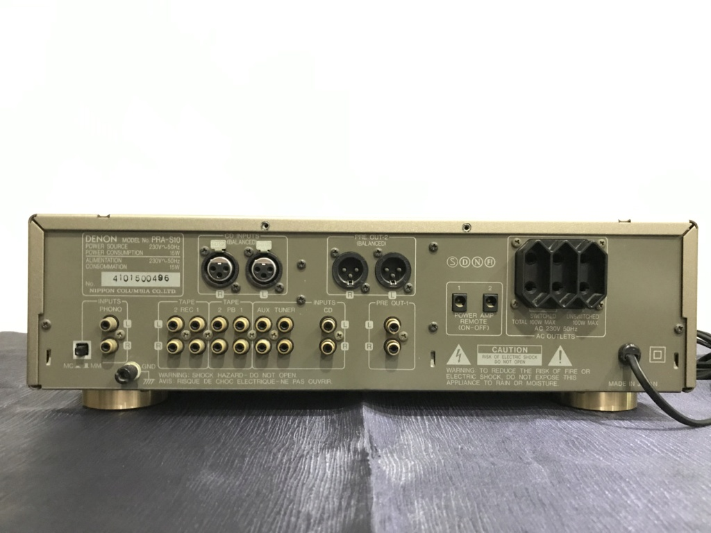 Denon PRA-S10 High End Balanced RC Pre Amplifier 75ba8510