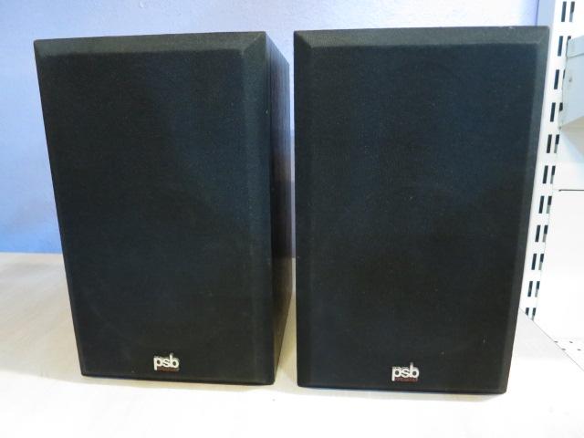 PSB The Amazing Alpha Bookshelf Speaker Img_1417