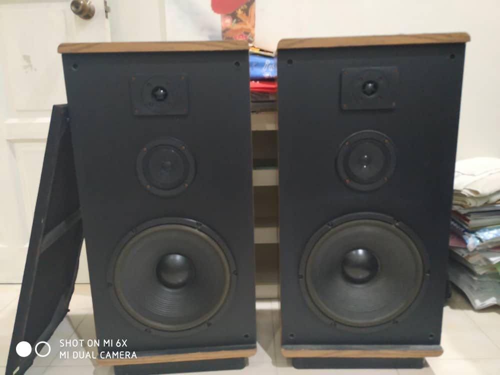 KLH Model 1203D Big Vintage Speaker Klh_mo10
