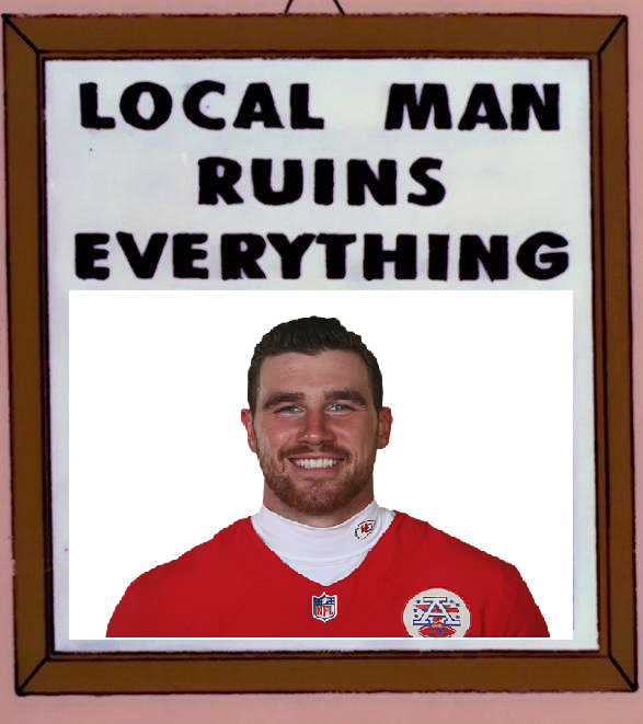 When Kelce shows up unannounced to the Thatcher fight Perfec10