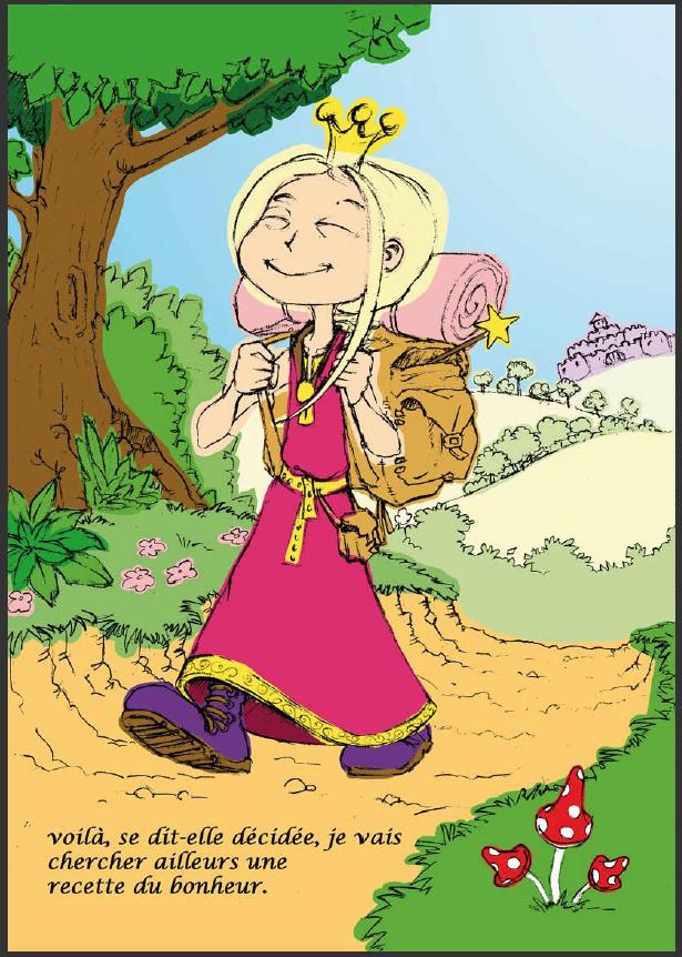 Livre pour enfant sur le thème chevaleresque Prince11