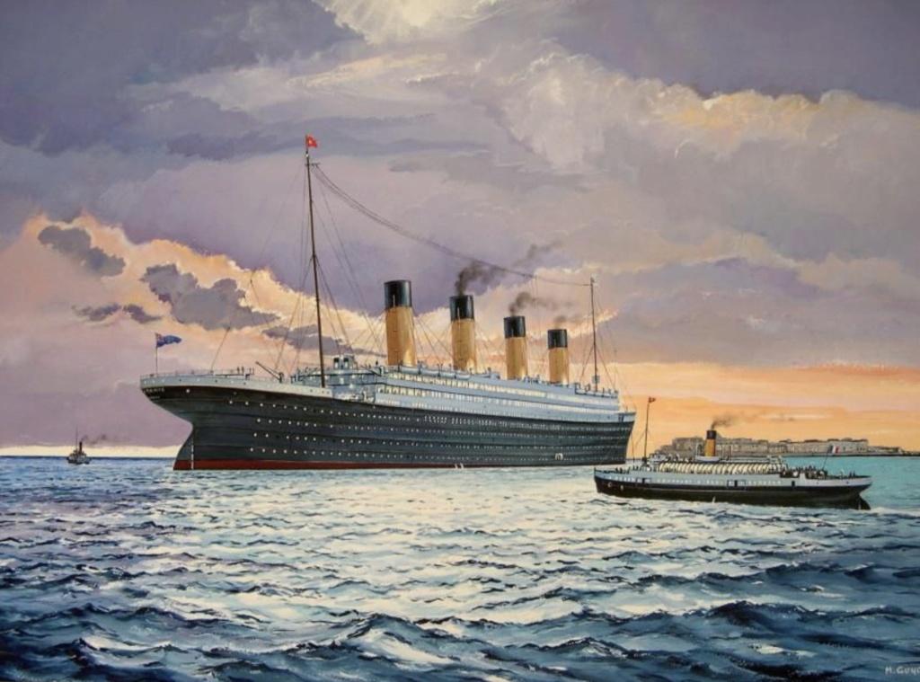 Montage Titanic Trumpeter 1/200 - Page 13 Captur10