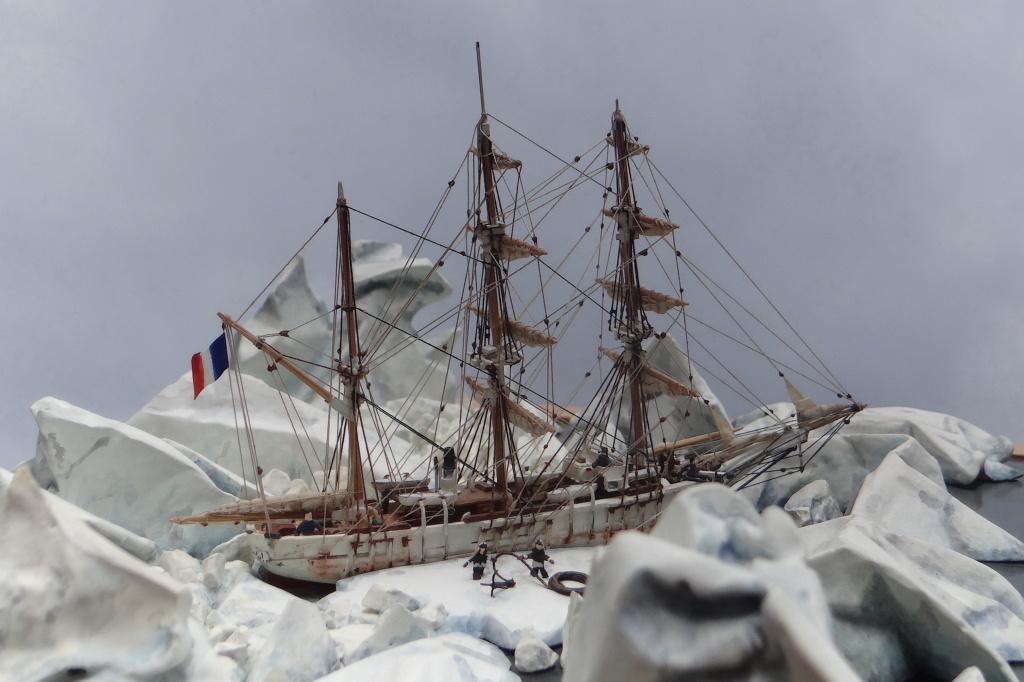 Dio : Le Pourquoi Pas? en Antarctique (scratch 1/400°) de LE CORRE Christophe Dsc05910