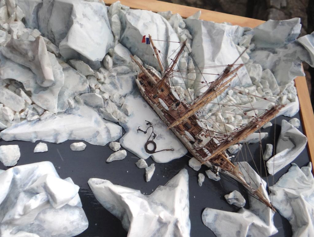 Dio : Le Pourquoi Pas? en Antarctique (scratch 1/400°) de LE CORRE Christophe Dsc05912