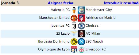 Alineaciones J3 Liga 2020-021
