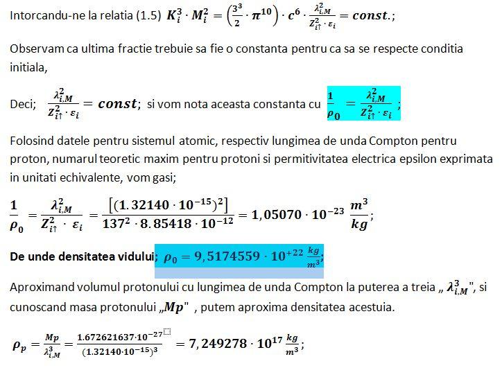 Echivalenta masa inertiala > energie radianta Densit10
