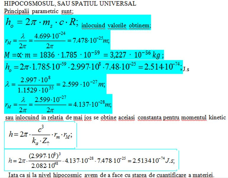 Impuls elementar şi moment cinetic elementar Hipoco14