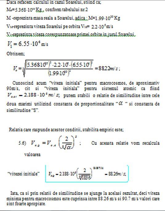 Studiul similitudinii sistemelor micro si macrocosmice (revizuit) - Pagina 5 Viteza10