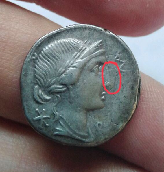 Denario de la gens Aemilia. MN AE-M-ILIO. Estatua ecuestre. Roma. Img_2115