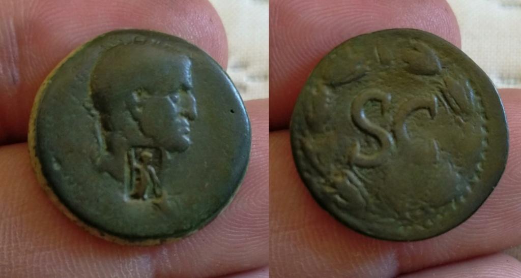 AE22 de Galba. SC. Antioquía (Resello de Atenea) Img_2151