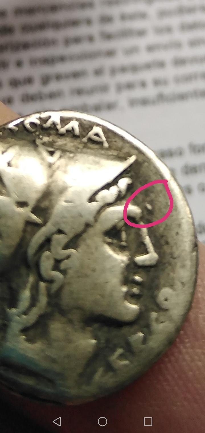 Denario de la gens Lutatia. Q. LVTATI - Q. Galera con cabeza de mujer y acrostolium. Roma. Screen14