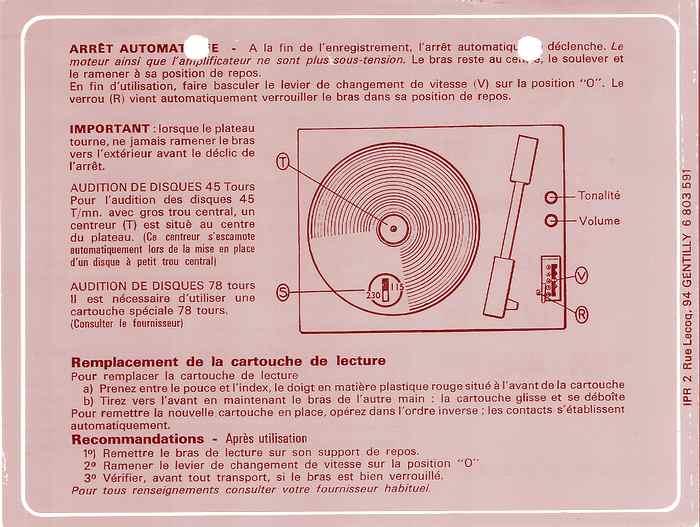 Ajuda gira discos antigo Platin10