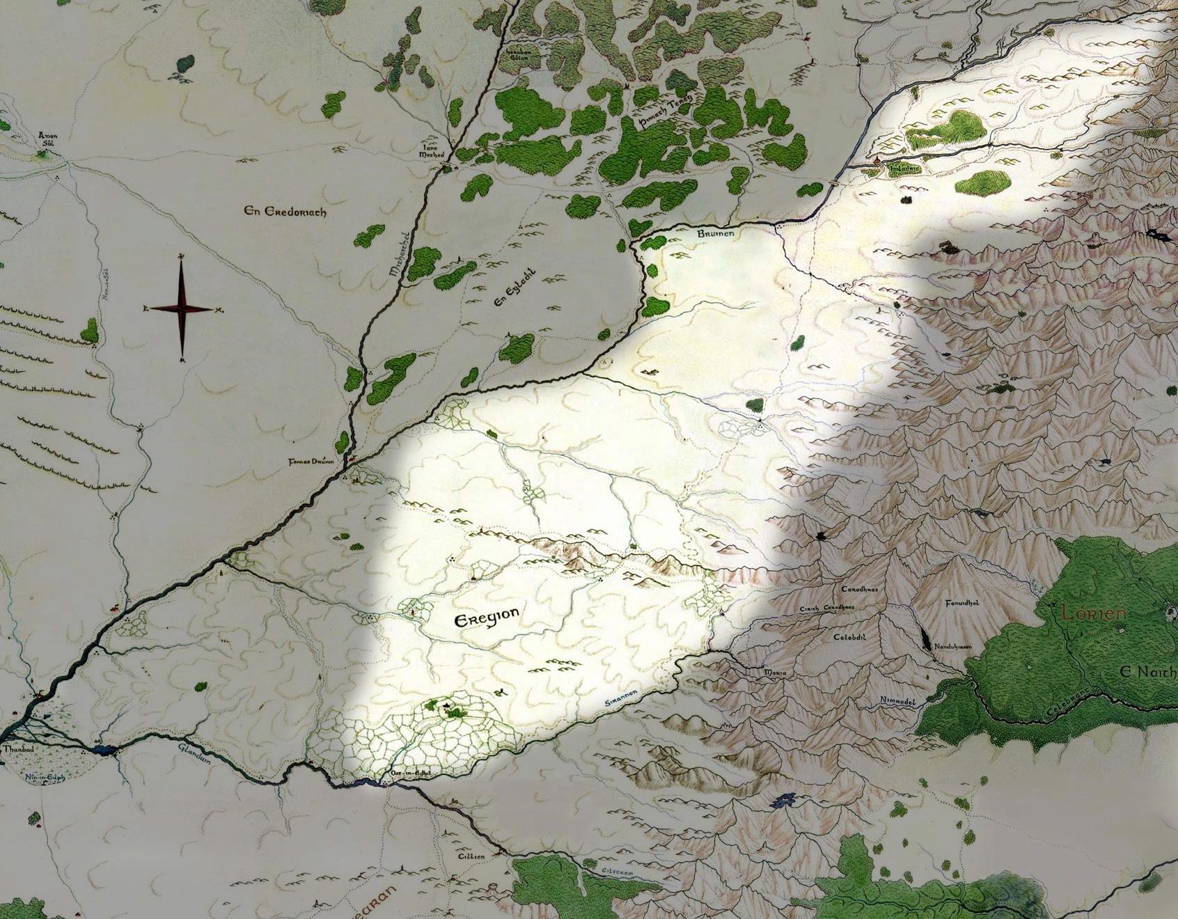 Géographie de l'Eregion Imladr12