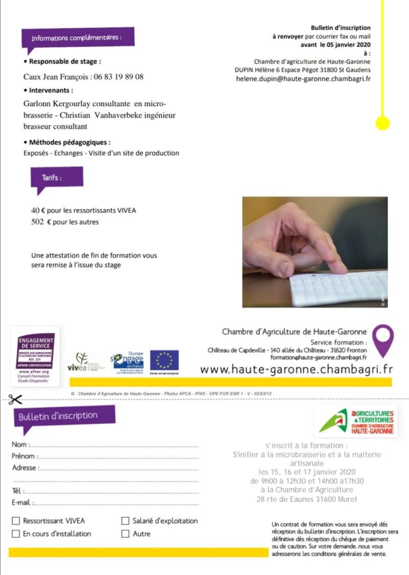 formation / présentation pour être micro-brasseur 20190912