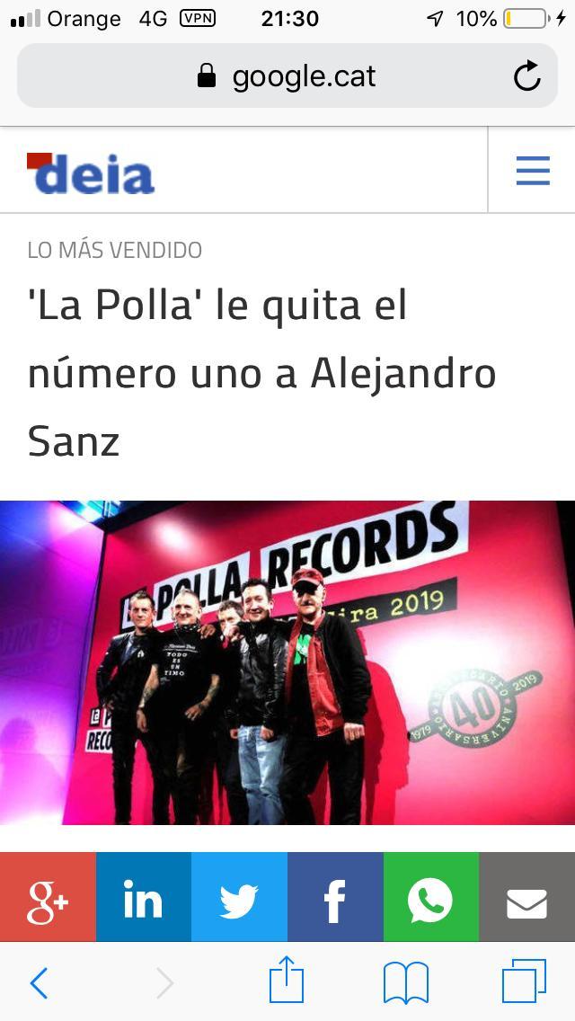 LA POLLA RECORDS Nº1 Lp310