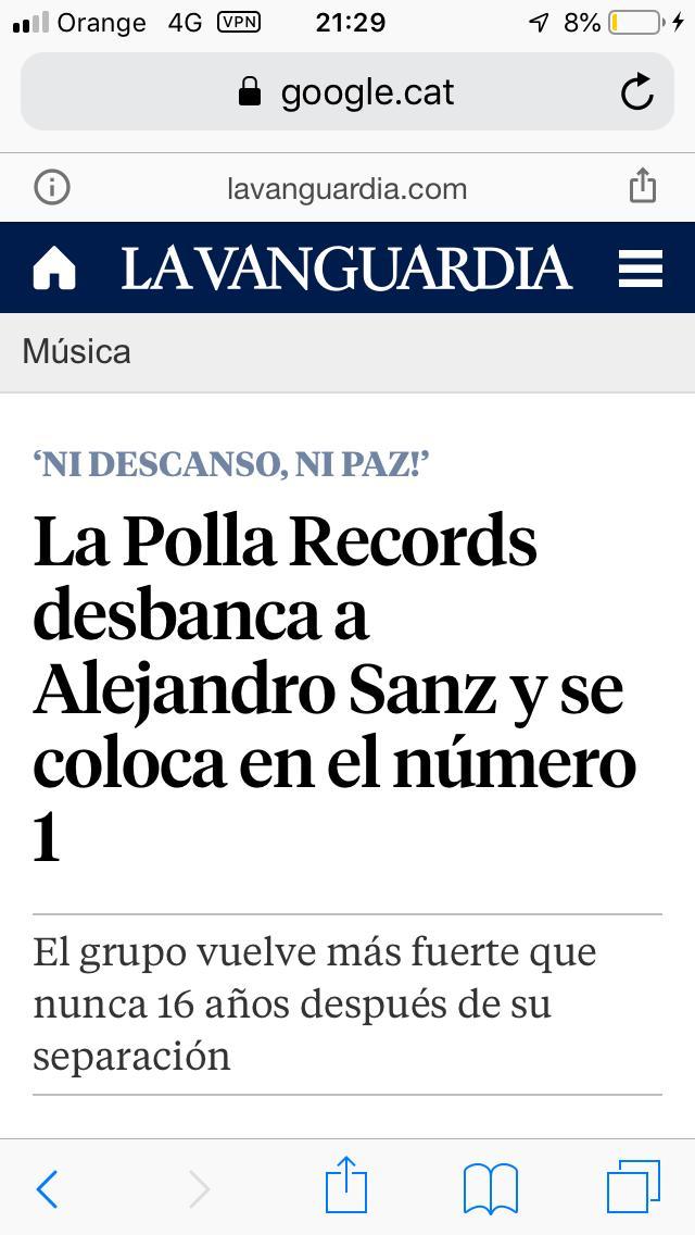 LA POLLA RECORDS Nº1 Lp510