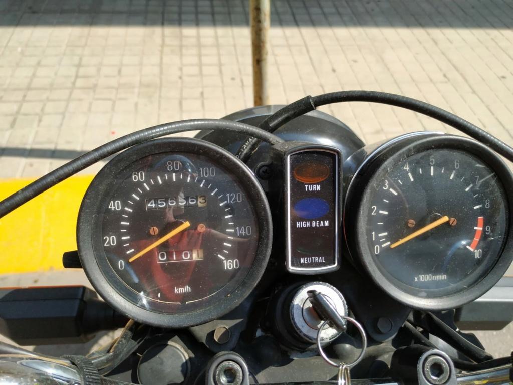 Vendo Yamaha SR 250 00016