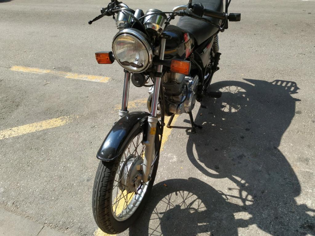Vendo Yamaha SR 250 00218