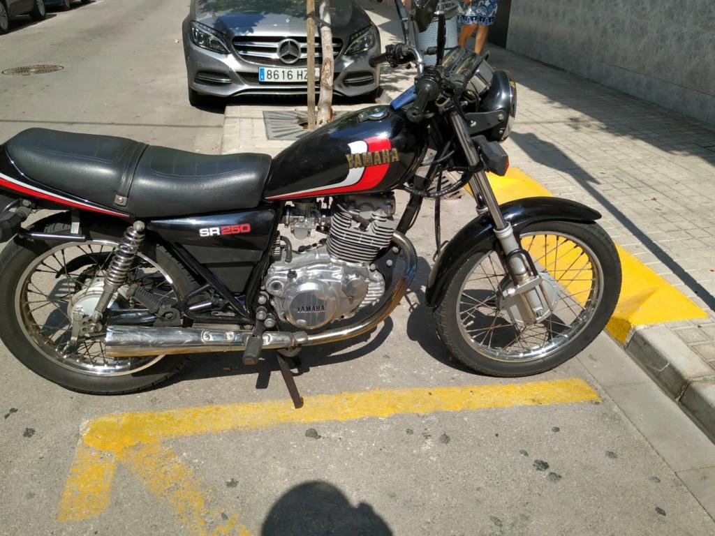 Vendo Yamaha SR 250 00514