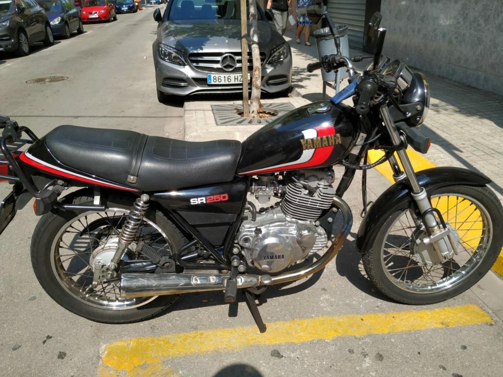 Vendo Yamaha SR 250 00614