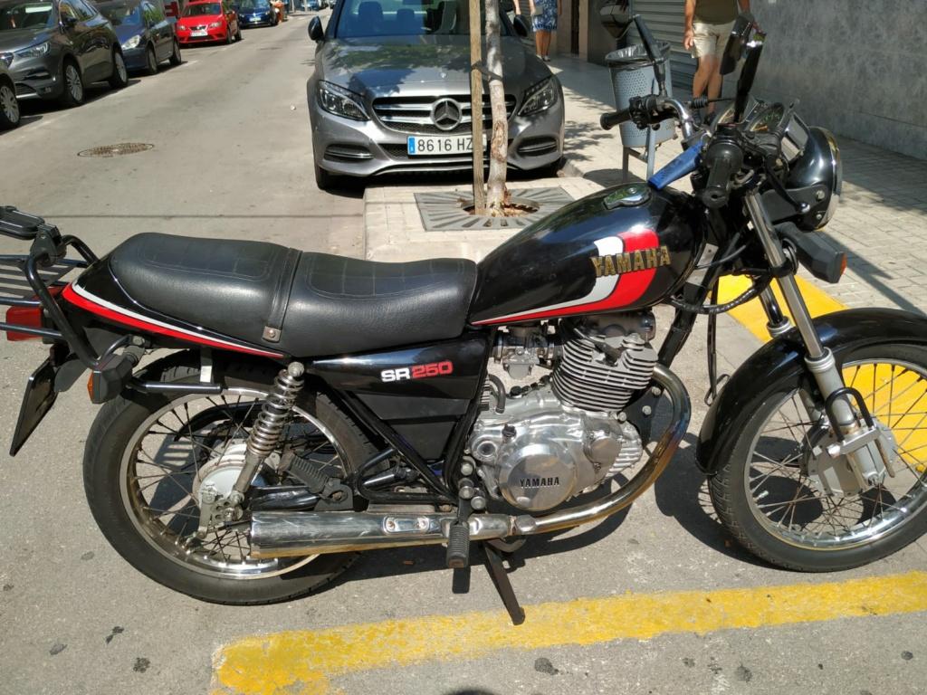 Vendo Yamaha SR 250 00715