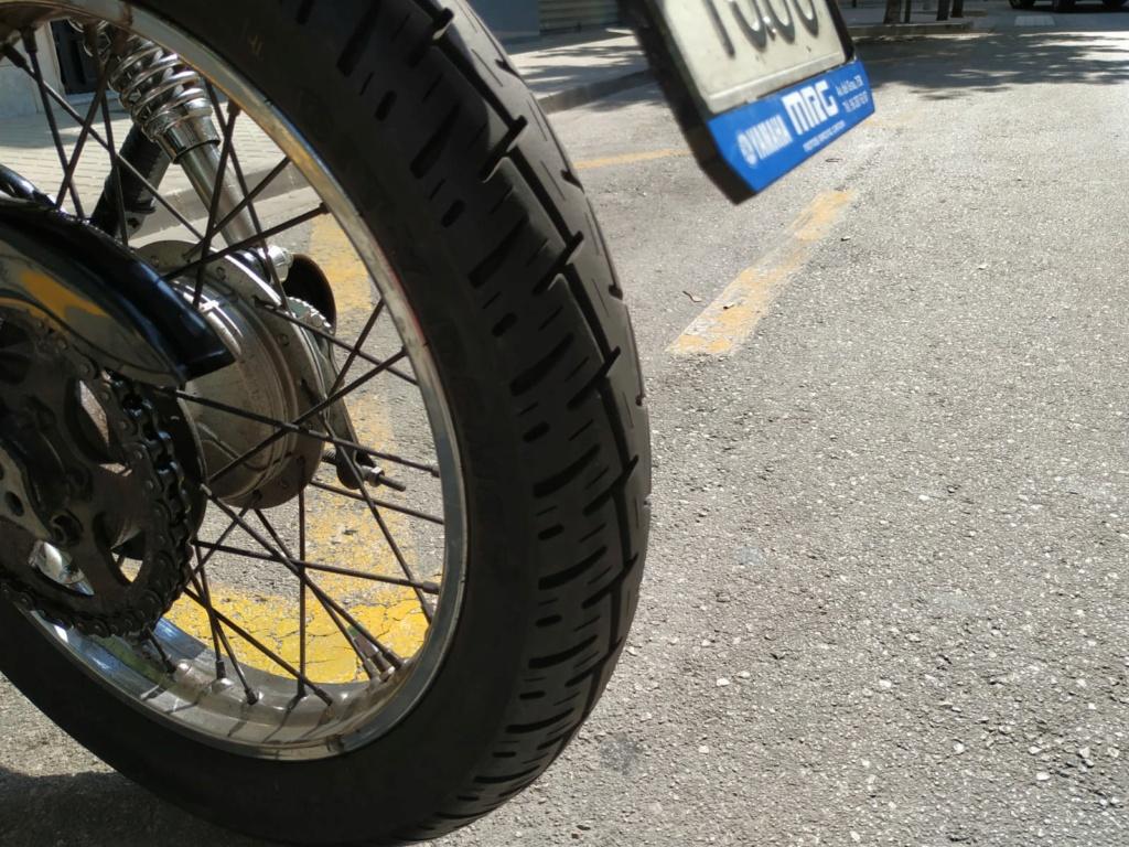 Vendo Yamaha SR 250 00815