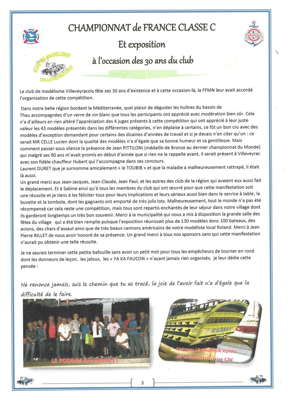 Championnat de France 2019 à Villeveyrac les 8, 9 et 10 juin prochain. Image_13